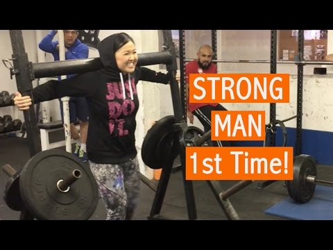Strong Man Gym - My First Time! Fueled by BPI Sports