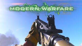 THE CLASSIC MW2 M4A1 in Modern Warfare...
