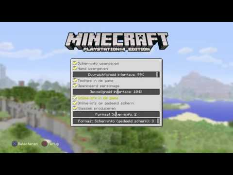 Minecraft how to turn off Nametags PS3/PS4/XBOX 360/XBOX ONE