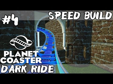 Planet Coaster | Dark Ride Roller Coaster Build | Let's Build a Theme Park