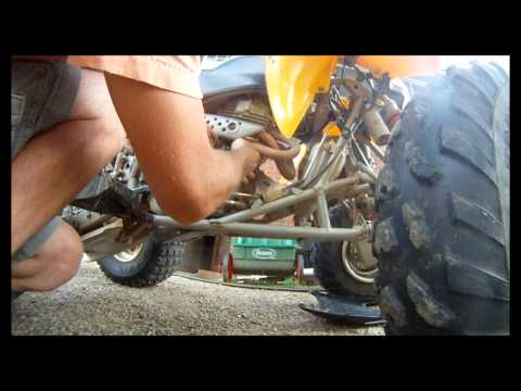 Honda 400EX Clutch Cable Replacement