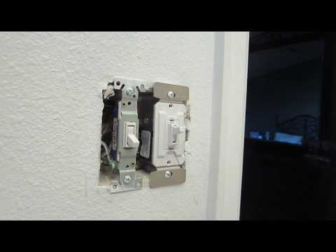 Replacing Dimmer Switch