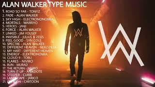 Alan Walker Relaxing Electronic Music - Alan Walker Relaxing Music To Sleep, Study, Work