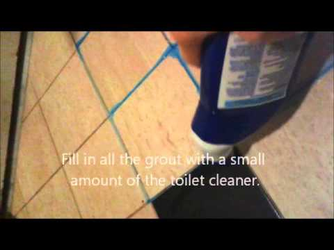 The Amazing Way To Clean Grout!
