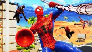 Download SPIDERMAN HIDE AND SEEK In Fortnite Battle Royale Video