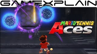 Mario Tennis Aces - How to Solve the Mansion