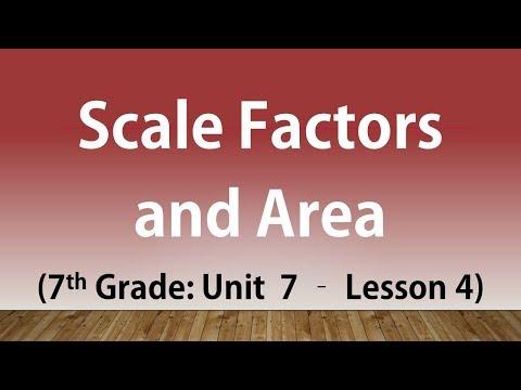 Scale Factors and Area: 7th Grade Unit 7 Lesson 4