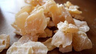 Цукаты из дыни (цукаты из арбуза готовят так же)