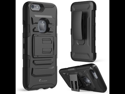 IPhone 6 Plus Case, [Heavy Duty Holster] i-Blason Apple iPhone 6 Plus (5.5) Unboxing