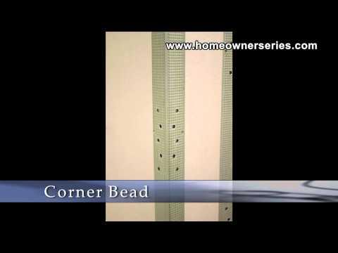 How to Fix Drywall - Corner Bead - Materials - Drywall Repair