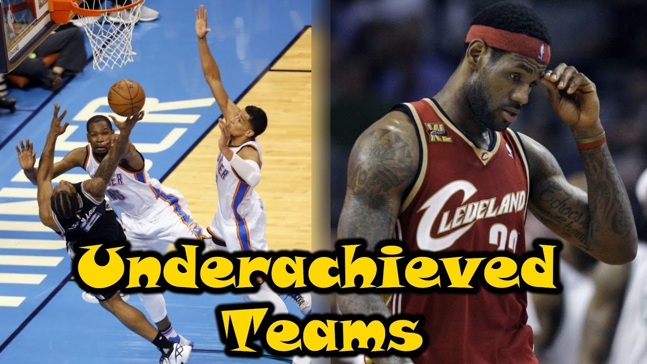8 NBA Teams That GREATLY Underachieved In The Playoffs!
