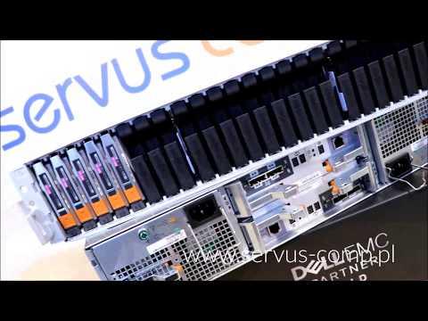 Integracja wdrożenie 2 x Półka dyskowa DELL EMC do macierzy DELL EMC VNX 5200 VNX5400 Servus Comp