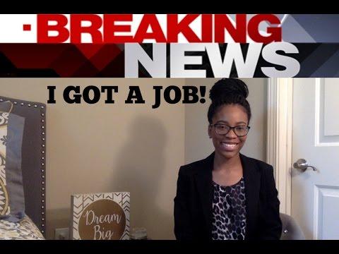 GOOD NEWS! I got a Legal Job/Internship!