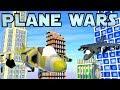 Minecraft War | PLANE WARS - British & American Harriers!