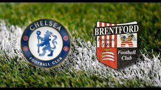 Chelsea - Brentford / 28 January 2017 / Football /FA Cup 2016-17/1: 16 final Russian commentators HD
