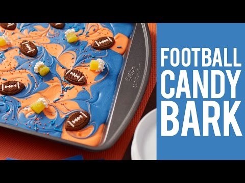 How to make Candy Bark in your Favorite Team Colors