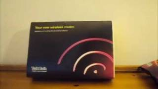 Talk Talk Wireless Router Unboxing