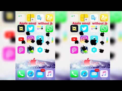how to get apple emoji ios 9.3.5 /10/8.1 without jailbreak!!