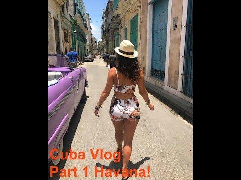 HAVANA CUBA VLOG   PT.1   Janelle Marie
