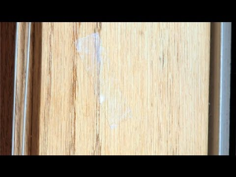 How to Clean Tape Residue From Wood Window Frames : Window Cleaning