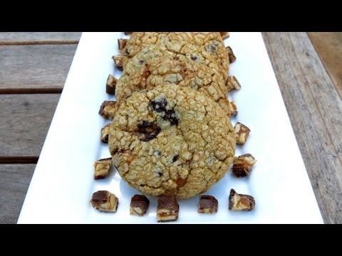 SNICKERS CHOCOLATE CHIP COOKIES RECIPE