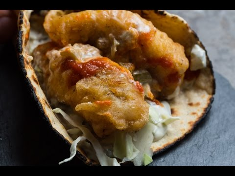 Easy Homemade Fish Tacos   SAM THE COOKING GUY