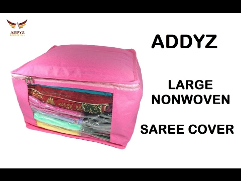 Large Non-Woven Saree Salwar Bedsheet Cover from ADDYZ - Cheapest & Best Home Storage Solution