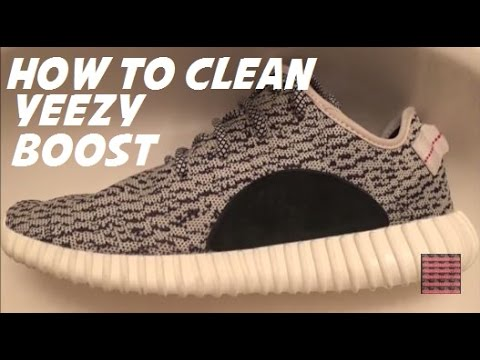 How I Clean My adidas Yeezy Boost 350 Shoes