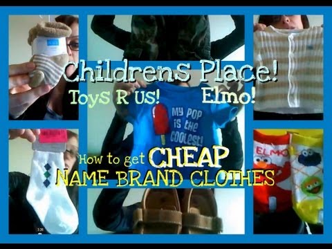 How to Get Name Brand Baby Clothes Cheap