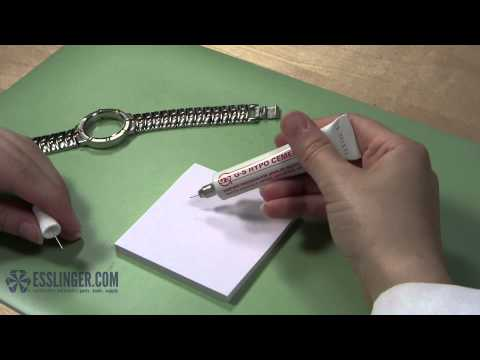 How to Attach Watch Crystals with GS Crystal Cement