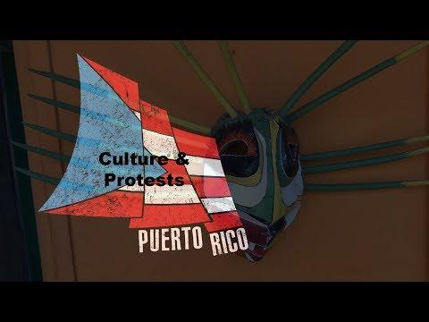 Puerto Rican Culture and School Closure Protests. April 26, 2018