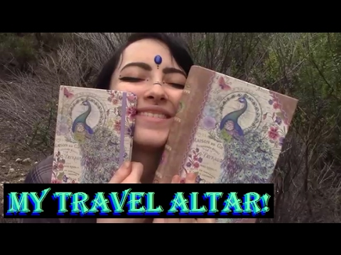 What's In My Witchy Travel Altar? | Azura DragonFeather