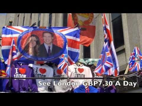 See London Cheap at GBP7.30 A Day