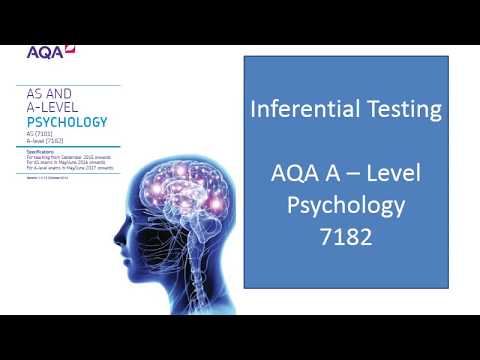 AQA Psychology Year 2 Research Methods - Inferential Statistics