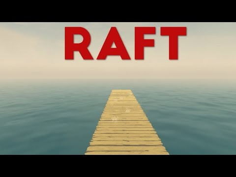 Raft - Rescued? - Traveling to the Edge of the Map - Let's Play The Raft Gameplay