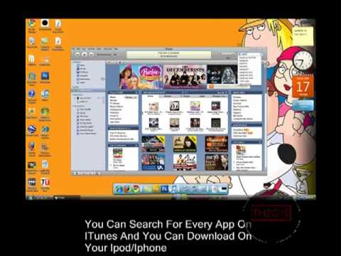 How To Put App Store Apps On IPhone or Ipod Touch