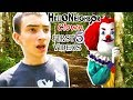 Hello Neighbor Clown Compilation First 5 Videos In Real Life Skits