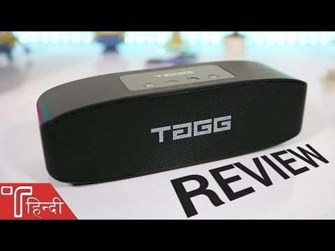 TAGG Loop Wireless Speaker Review in HINDI - Best Bluetooth Speaker 2018?