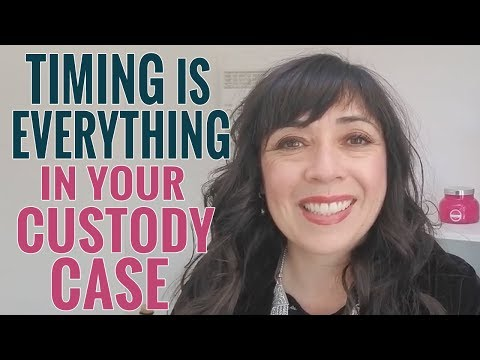 Timing is Everything in Your Child Custody Case (Especially When Filing)