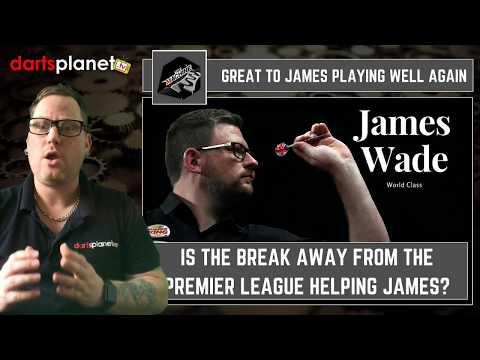 GREAT TO SEE JAMES 'THE MACHINE' WADE BACK IN FORM