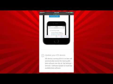 How to install iOS 9.1 beta on iOS 8.x.x FREE (NO UDID)
