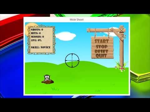 Game Programming Tutorial | C# | GDI+ | Mole Shooter - Part 1