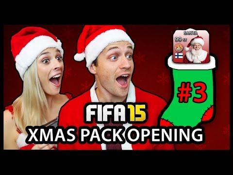 XMAS ADVENT CALENDAR PACK OPENING #3 - FIFA 15 ULTIMATE TEAM