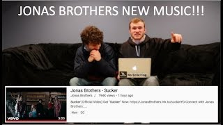 Jonas Brothers - Sucker Reaction Video!!! *long Time Fans*