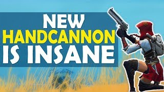 NEW HANDCANNON IS INSANE   YEEHAW BROTHER   HIGH KILL FUNNY GAME- (Fortnite Battle Royale)