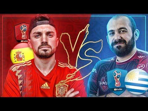 ABUABU GAMER VS DAVIDSP | OCTAVOS DE FINAL | MUNDIAL DE YOUTUBERS | ESPAÑA VS URUGUAY
