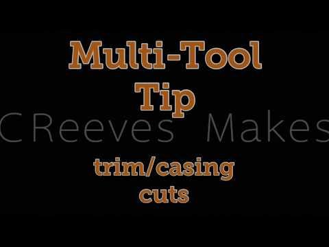 CReeves Makes Quick Tip #1 Multi-Tool Cutting Door Trim and Casing #TeamRIDGID