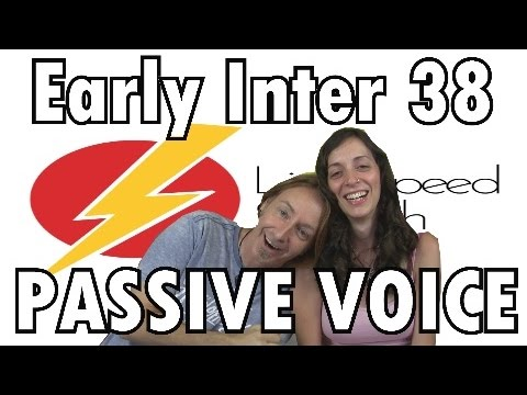 Spanish Lesson  38 Early Inter The Active and Passive Voice LightSpeed Spanish