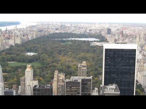 Upper Manhattan, viewed from Rockefeller Center - October 2011