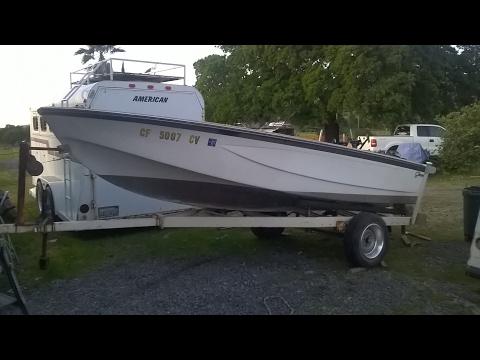 Jet ski swap fishing deck conversion